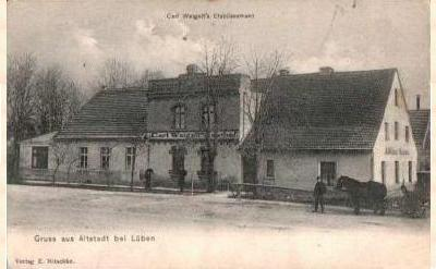 Carl Weigelt's Etablissement in Lüben-Altstadt